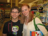 Deborah Ann Woll - Photo With a Fan - Aug 12, 2012