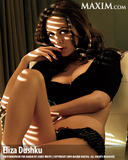 Eliza Dushku in black bra and panties in Maxim magazine March 09 - Hot Celebs Home