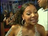 Ashanti at 2007 MTV Video Music Awards backstage video
