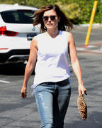 Sophia Bush - Stops By Dry Bar on Sunset Strip in Los Angeles, CA  4/24/14