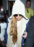 Lindsay Lohan @ Candids at JFK Airport in New York City - 04/19/13 - 22x (HQ)