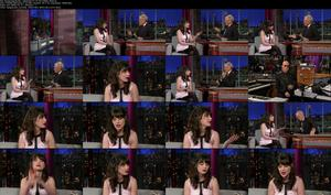 Zooey Deschanel - Letterman [11-15-12] (1080i)