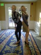 Laura Prepon and Chelsea Handler Striking a Sexy Pose - January 8, 2012