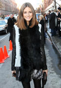 Olivia Palermo Marchesa Fall 2011 presentation at MBFWNY 16-02-2011